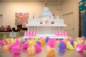 """The Peep's Basilica"" by Thomas Kelley of Newport, NH was a crowd favorite during the 2013 competition. Photo: Amanda Perkins Photography"