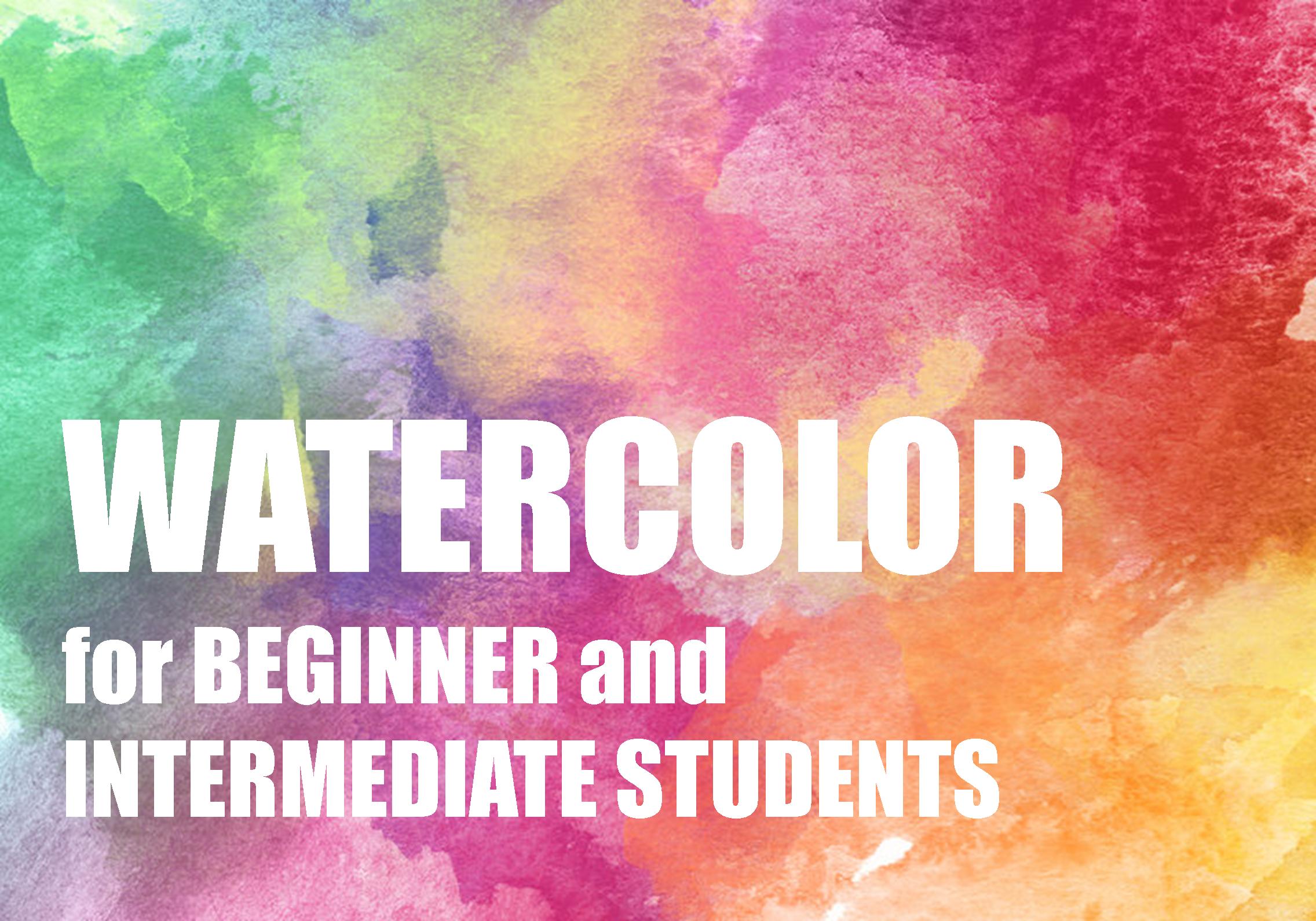 Drop in Watercolor