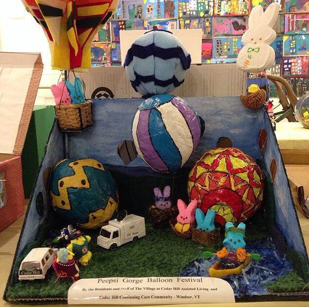 Library Arts Center 2014  Peeps Diorama Contest - 4