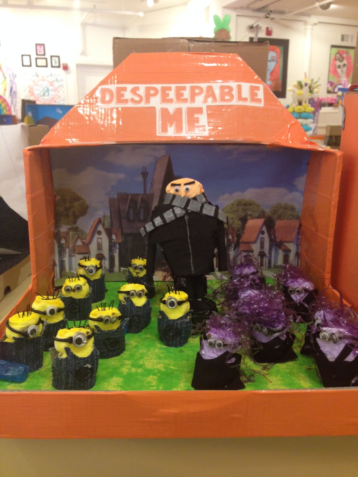 Despeepable Me by Isabelle & Jen Correa & Catherine Rupp of Newport, NH