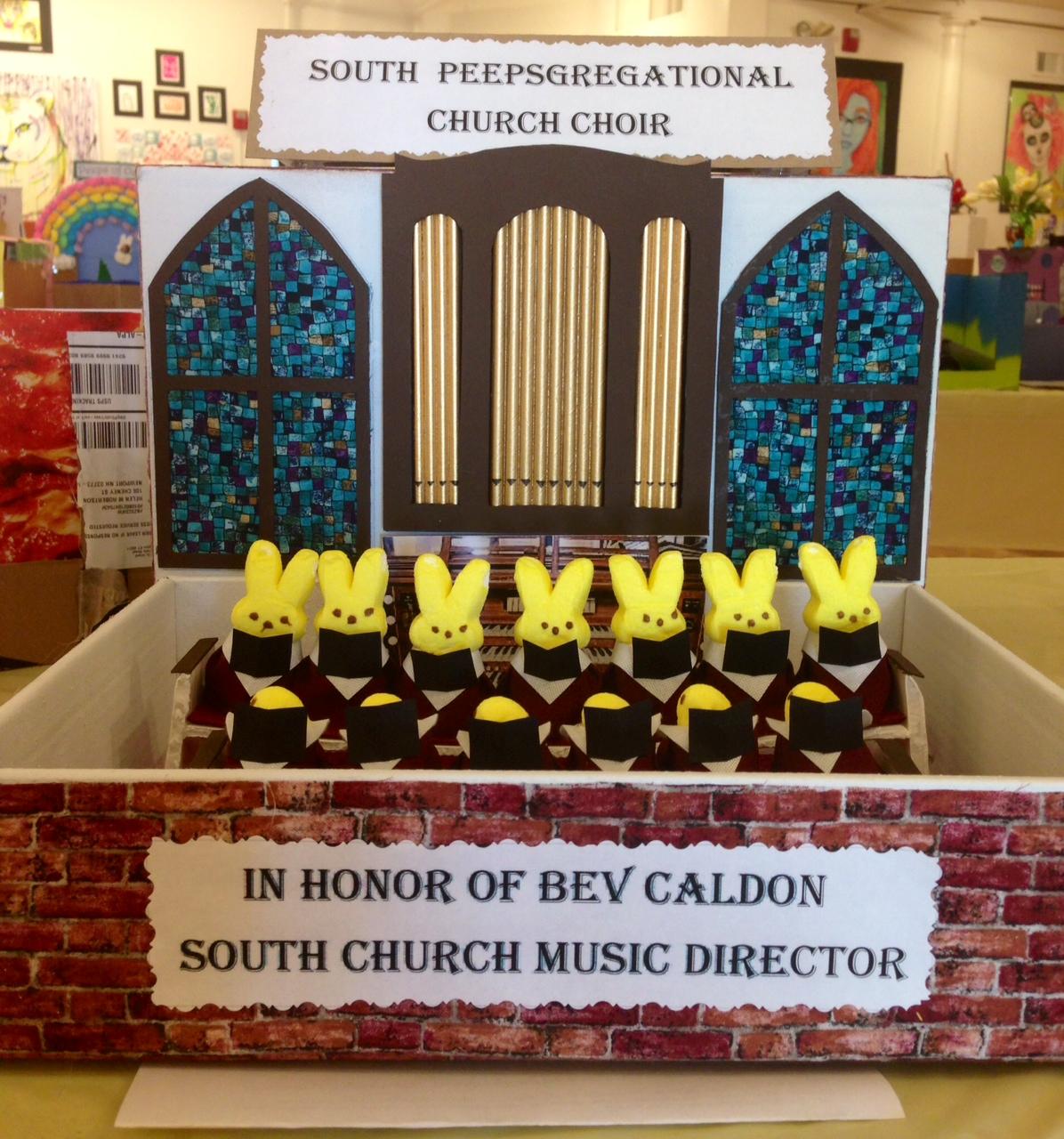 South Peepsregational Church Choir  by Nancy Whynall of Newport, NH