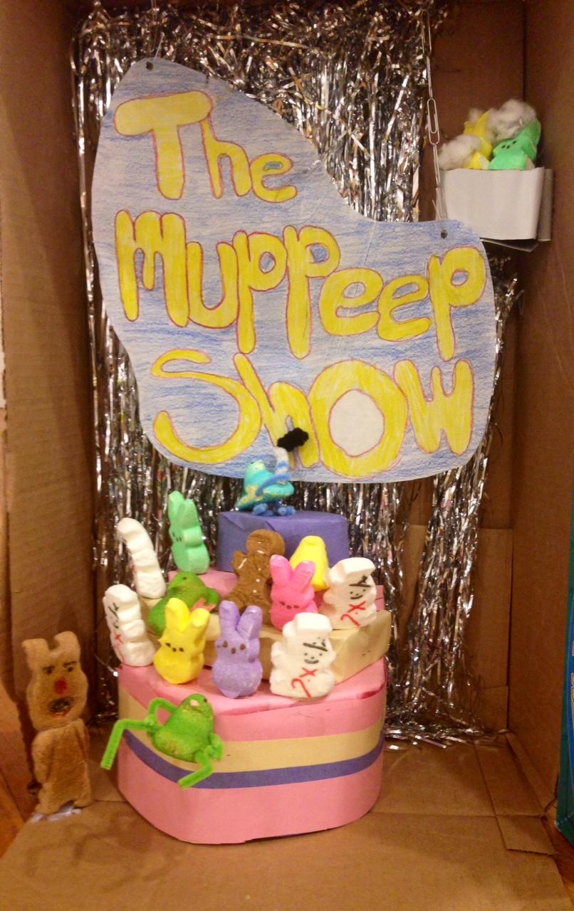 The MuPEEP Show, Victoria Burroughs & Emily Guyett, both age 13 of Newport, NH