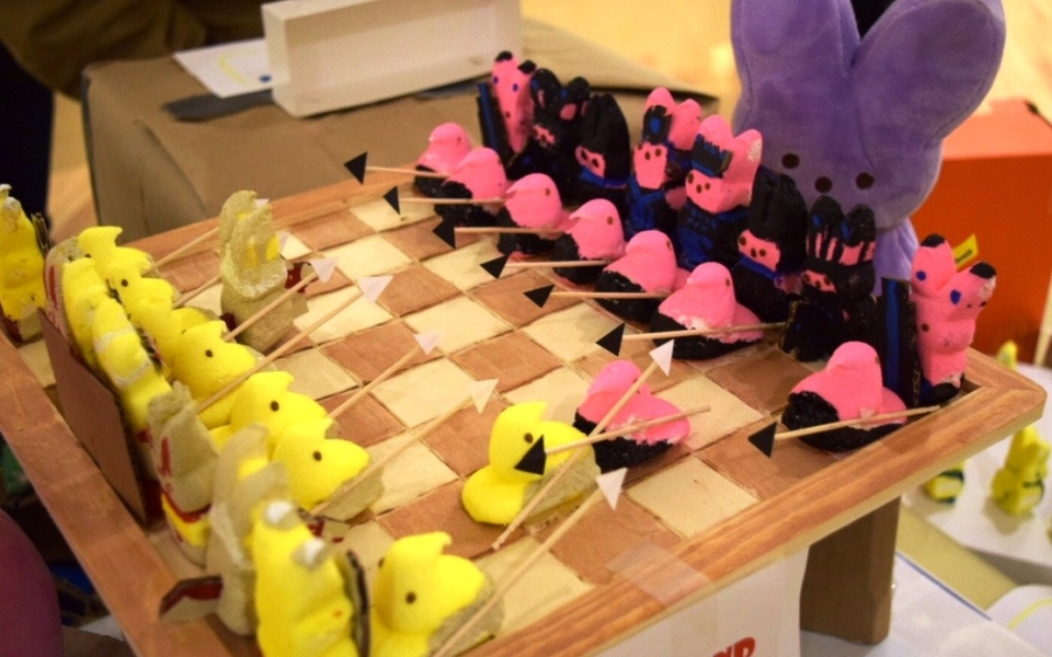 Peeps Chess – Mary Alice Wilson