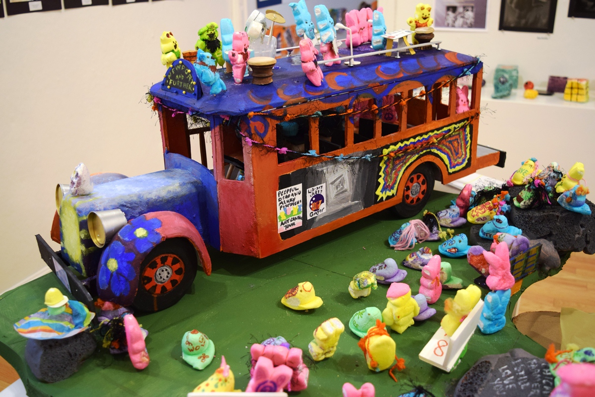 The Merry Peepers Tour Bus by Thomas Kelley