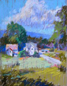 Robert Carsten's Quick Sketch Spring Landscape