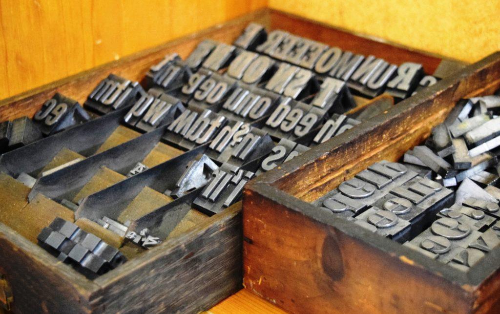 Letterpress Type in the Studio