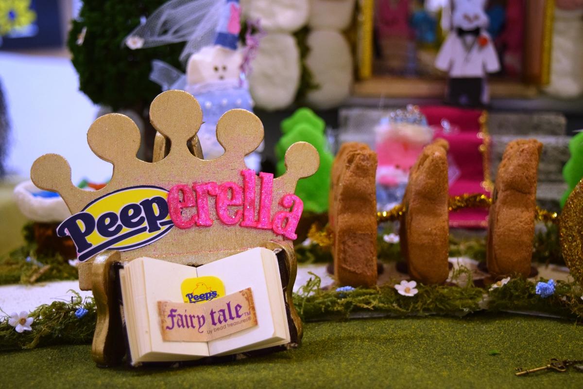 Detail Image ONE - BEST IN PEEPS - Peep-erella by Lee Carey, Grantham, NH