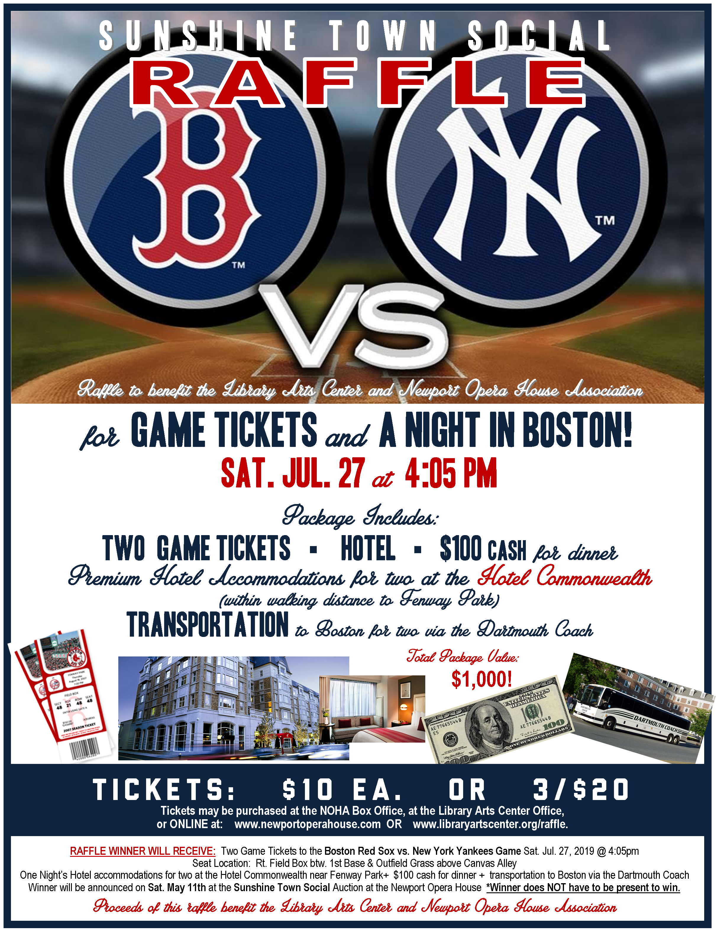 Red Sox Raffle 2019!