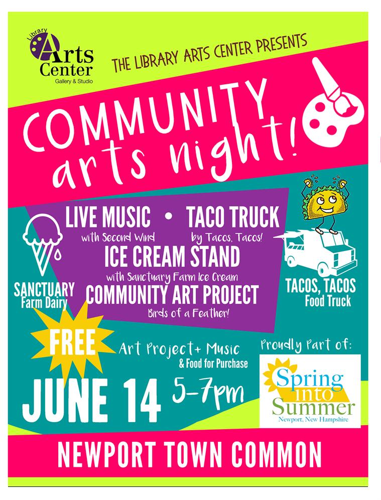 Community Arts Night - June 14th