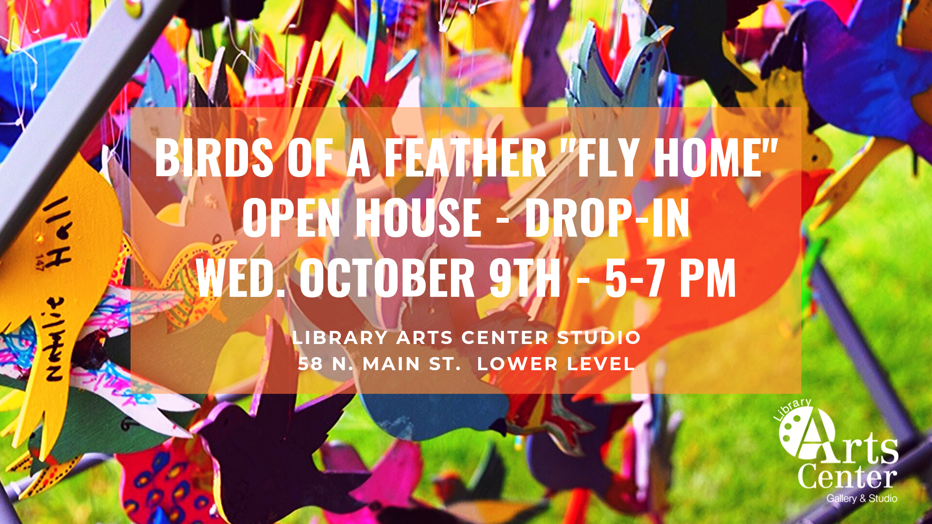 Open Studio at the Library Arts Center