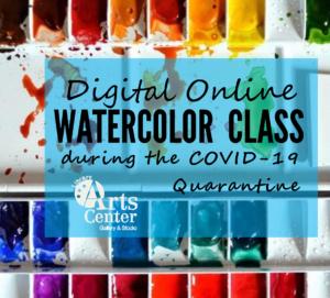 Digital Watercolor during Covid-19