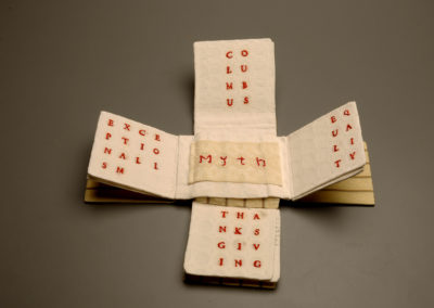 Gail Smuda - Embracing the Myths - Book Arts - Open View