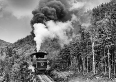 Gillian Martlew - Mount Washington Cog Railway - Photograph