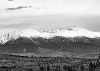 Lindsay Holmes - Snowcapped Presidentials - Photograph