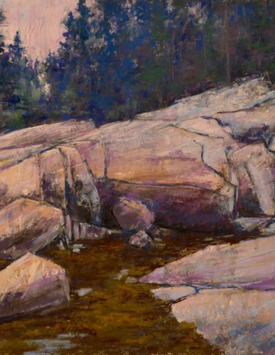 "Andrew Anderson-Bell ""Granite at the Shoreline"""