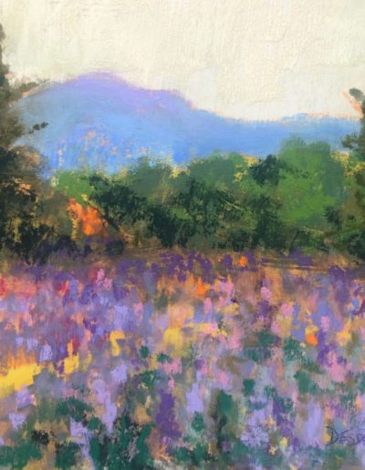"Linda Dessaint ""Springtime at Monadnock"""