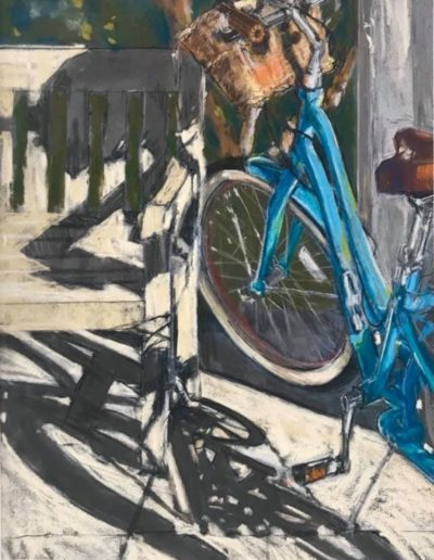 "Jeri Greenberg ""Bike and Shadows"""