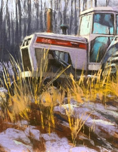 "Dave Kaphammer ""Parked for Winter"""