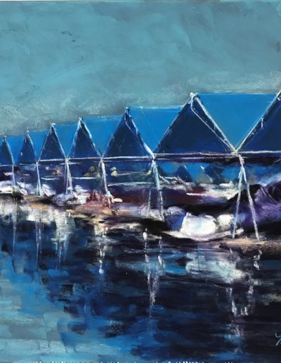 "Madeleine LaRose ""Blue Marina"