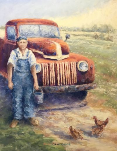 "Carol-Ann Wernoch ""A Man and His Truck"""