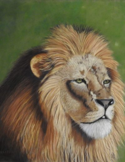 Carol Corliss - Your Majesty - Pastel - $1000