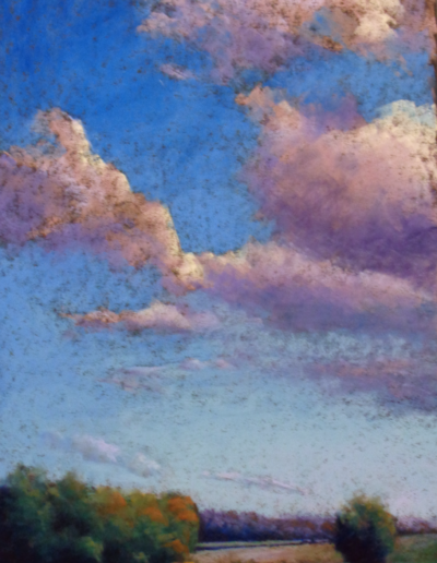 Betsy Craumer - Big Sky Country - Pastel - $695