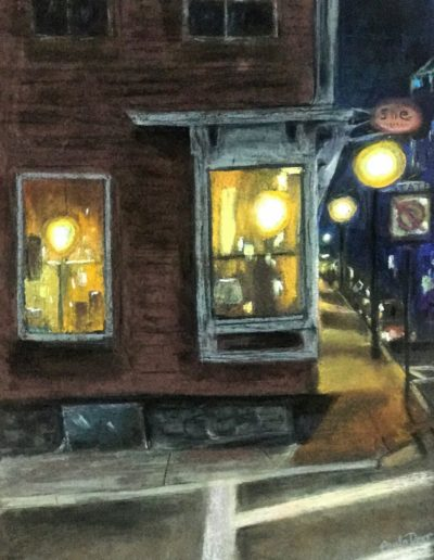 Paula Dorr - Night Light - Pastel - $390