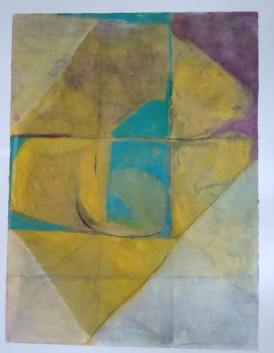Christine R. Hawkins - Platitudes - Oil & Charcoal on Paper - $850