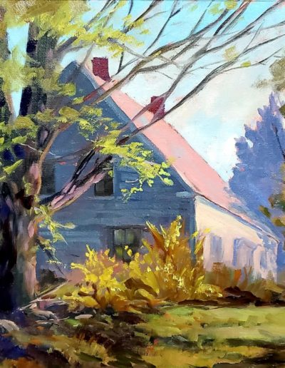 Susan MacDonald - Late April Afternoon - Oil - $850