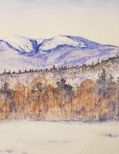 Tristan MacDonald - Mt. Cardigan - Watercolor - $295