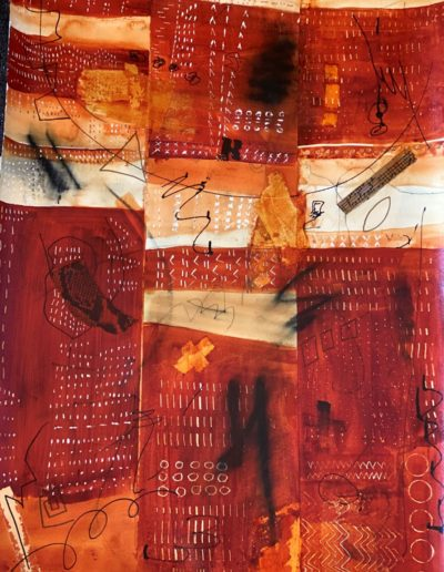 Elizabeth Moore - Pandemic - Mixed Media - $400
