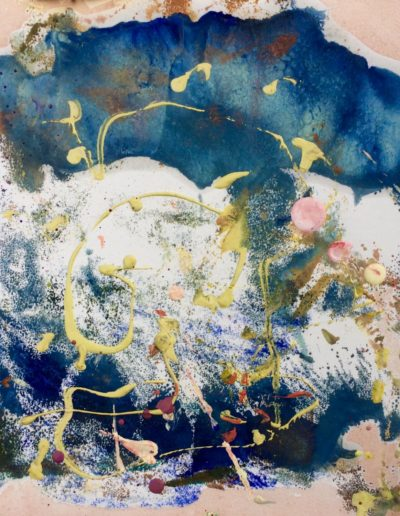 Lucy Mueller - Morning - Encaustic - $125