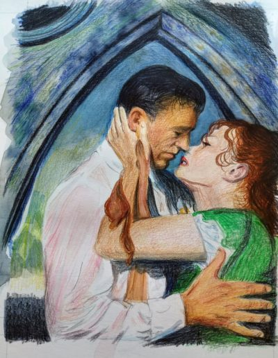"Alison Wood ""The Quiet Man Kiss"""
