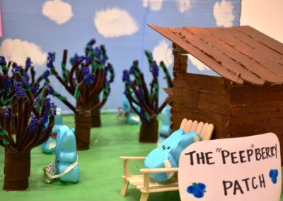 Madison Miller and Patrick Mohan-The Peep Berry Patch-Adult Category
