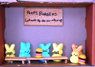 Violet Wright - Peeps Burger-Teen Category - Detail